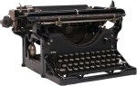 Old Black Type Writer