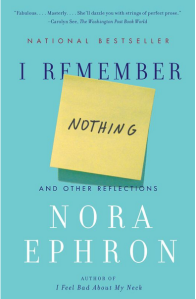 Cover of I Remember Nothing Book