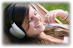 Writing an Effective Thesis (Girl with Headphones)