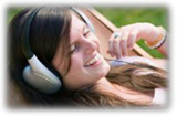 Writing an Effective Thesis (Girl with Headphones), (c) 2013 Jupiterimages