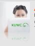 Girl at computer KUWC