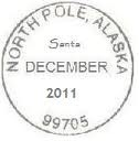 Northpole postmark