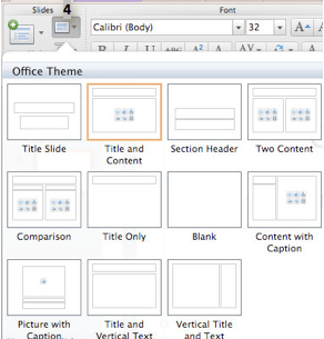 Slide Layout Task Pane