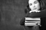 Scholar woman. © 2014 Clipart.com