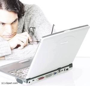 reading laptop copy